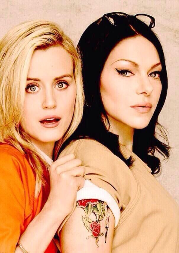 Piper and Alex in Orange Is The New Black