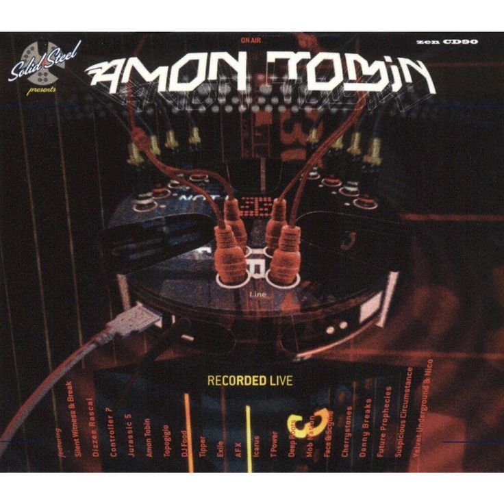 Amon Tobin - Solid Steel Presents Amon Tobin: Recorded Live (CD)