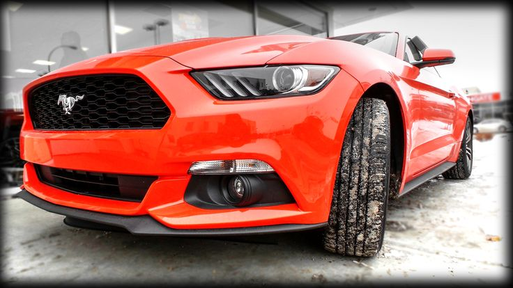 Competition Orange 2015 #Ford Mustang EcoBoost