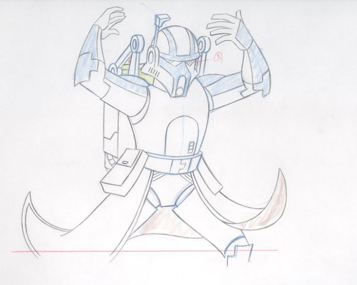 how to draw hard mech