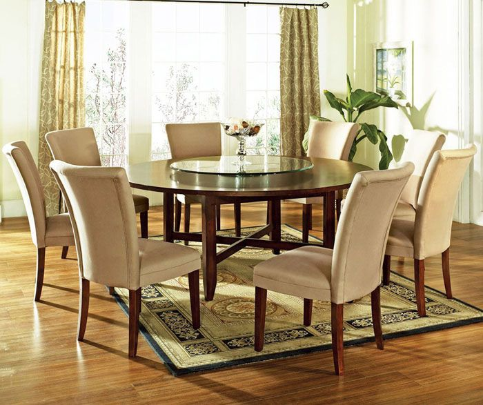 Large Round Dining Room Table Ideas