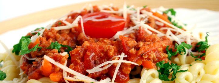 Boloňské špagety bez masa
