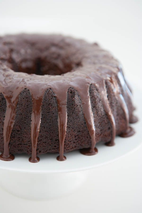 """Decadent Chocolate Bundt Cake: """"Now this isn't so much of a recipe, as a tip on how to make a package of boxed cake mix into the moistest, richest cake you've ever tasted."""""""