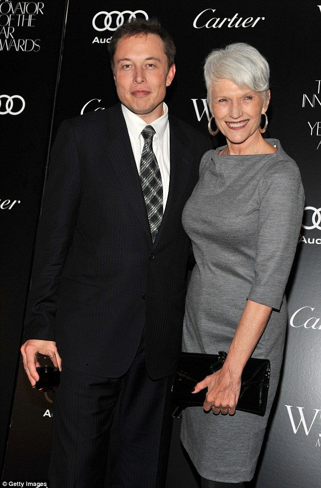 Seriously successful family: Maye Musk (right) tells all about her 50-year career as a model and raising her kids, including billionaire Elon Musk (left)