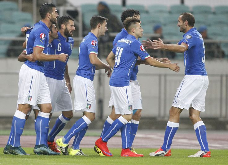 Stephan El Shaarawy ended a three-year drought by scoring the winning goal as Italy beat Azerbaijan 3-1 Saturday to qualify for next year's European Championship. After Eder's opener and an equalizer from Dmitri Nazarov, El…