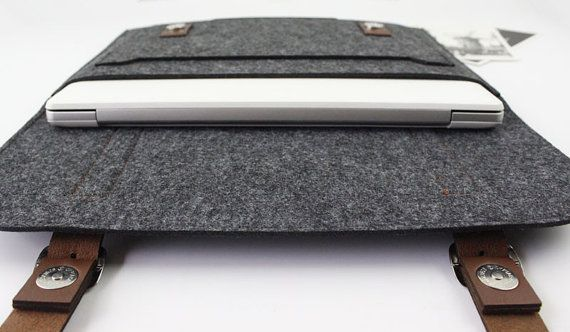 Regalo fieltro funda Macbook Pro de 13 pulgadas manga de