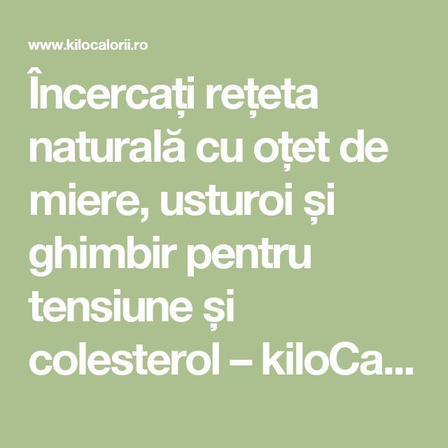 Încercați rețeta naturală cu oțet de miere, usturoi și ghimbir pentru tensiune și colesterol – kiloCalorii