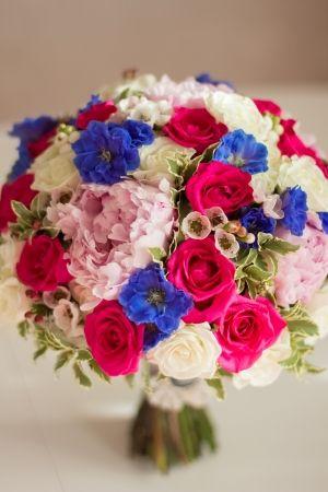 Букет невесты МАРТЕ. Дельфиниум. Роза.Пион. #flowerbox #lejardinbotanique #студияjardin #wedding #bouquet