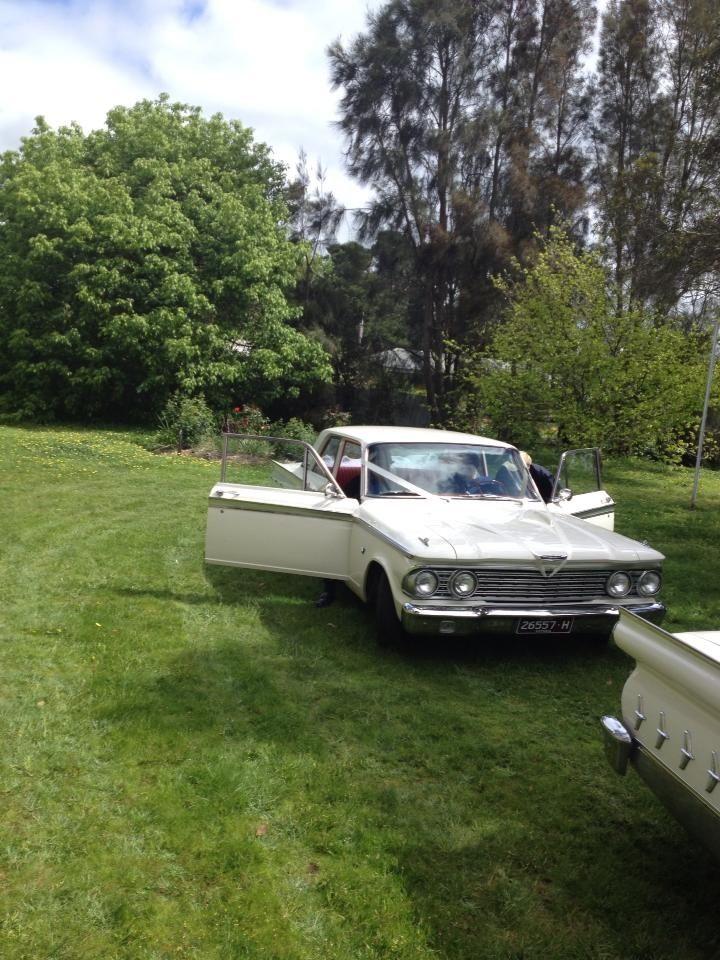 Vintage cars Wedding Joy
