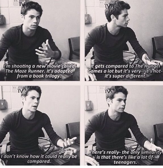 Dylan O'Brien talks about Maze Runner