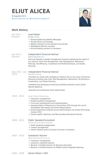 lead pastor resume samples visualcv resume samples database