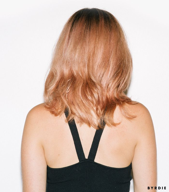 I Tried Fall's It-Girl Hair Color—See the Photos via @ByrdieBeauty
