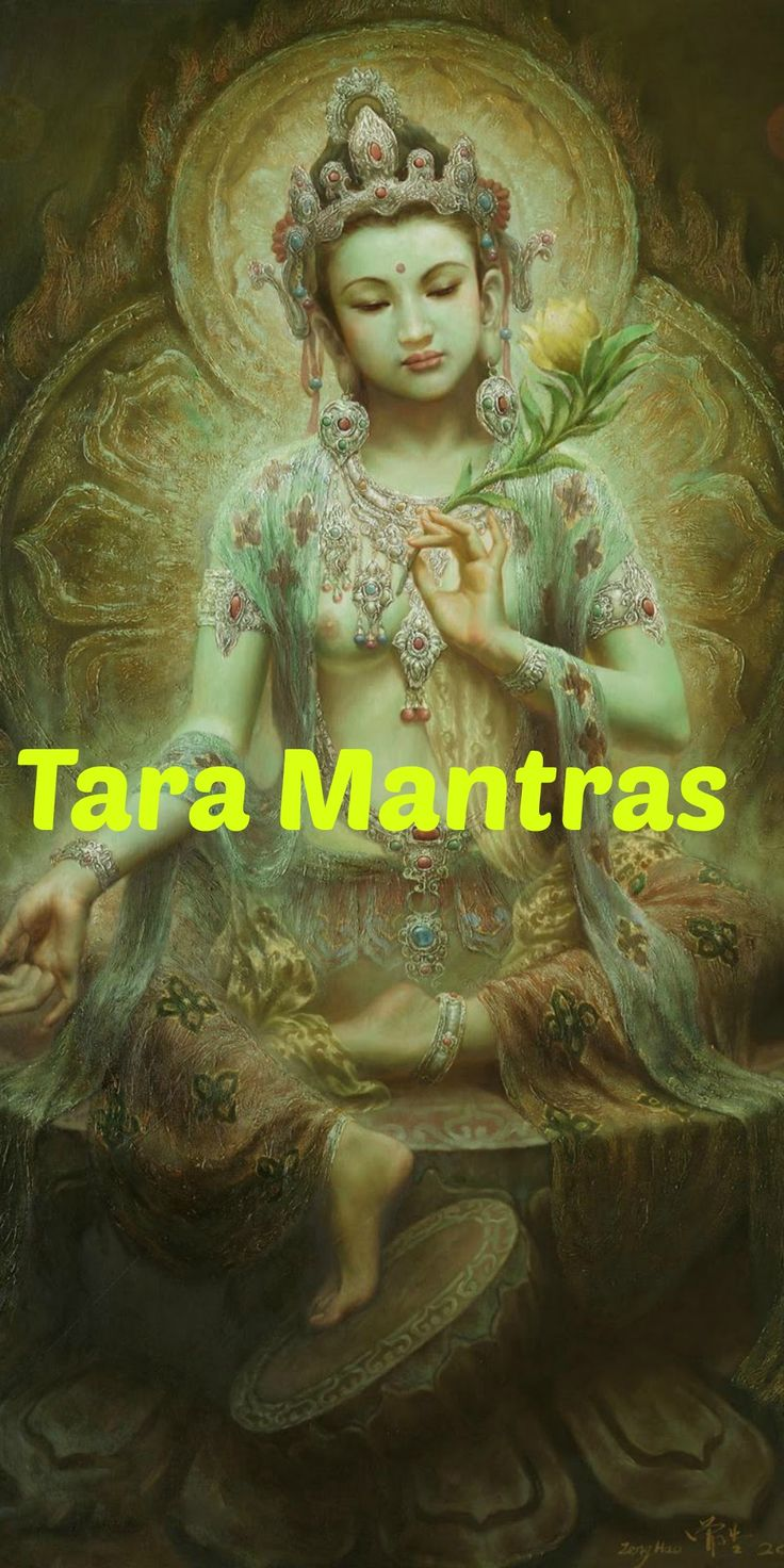 White, Yellow, Blue, Red, and Green Tara Mantras – Lyrics, Meaning & Benefits