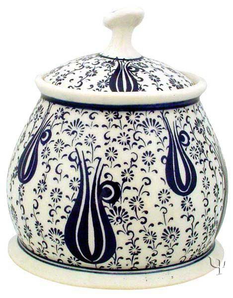 Iznik Design Ceramic Tobacco - Bowl