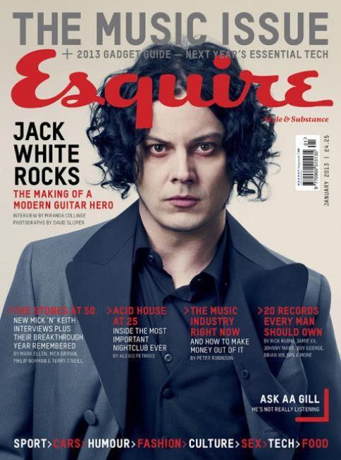 Esquire (UK) feat. jack White