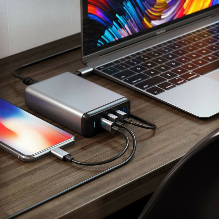Charge several devices at the same time with Satechi travel charger. #satechi #charging #lifestylestore #travel #usbc https://goo.gl/W7KWkD