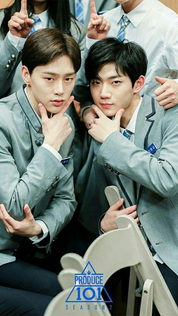 Kwon Hyun Bin & Ahn Hyeong Seop | wallpaper produce 101 season 2