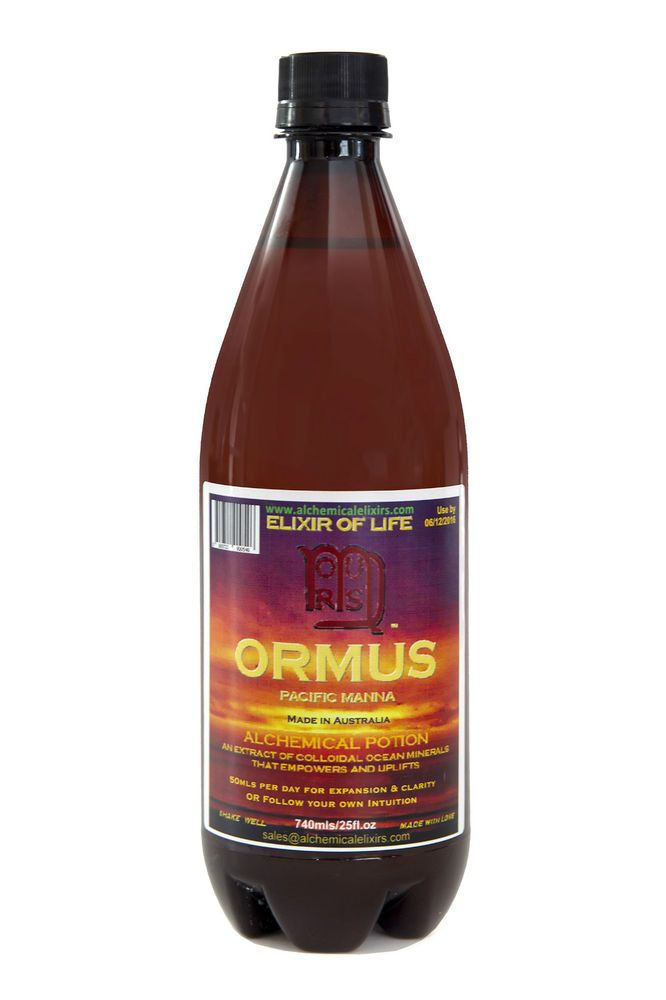 Monoatomic Gold,Ormus,740 mls Worlds #1 ORMUS Gold,Monatomic Gold,Anti-Ageing