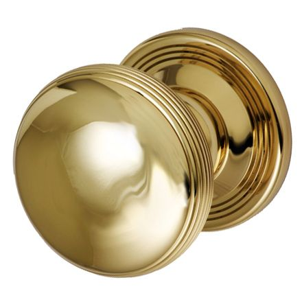 Samuel Heath Contour centre door knob. Suitable for front doors. 85mm diameter, various finishes available.