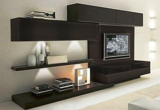 muebles de melamina, placards, racks lcd, muebles a medida  Living