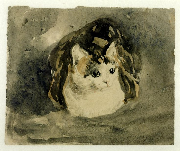 Gwen John 'Cat', c.1904–8