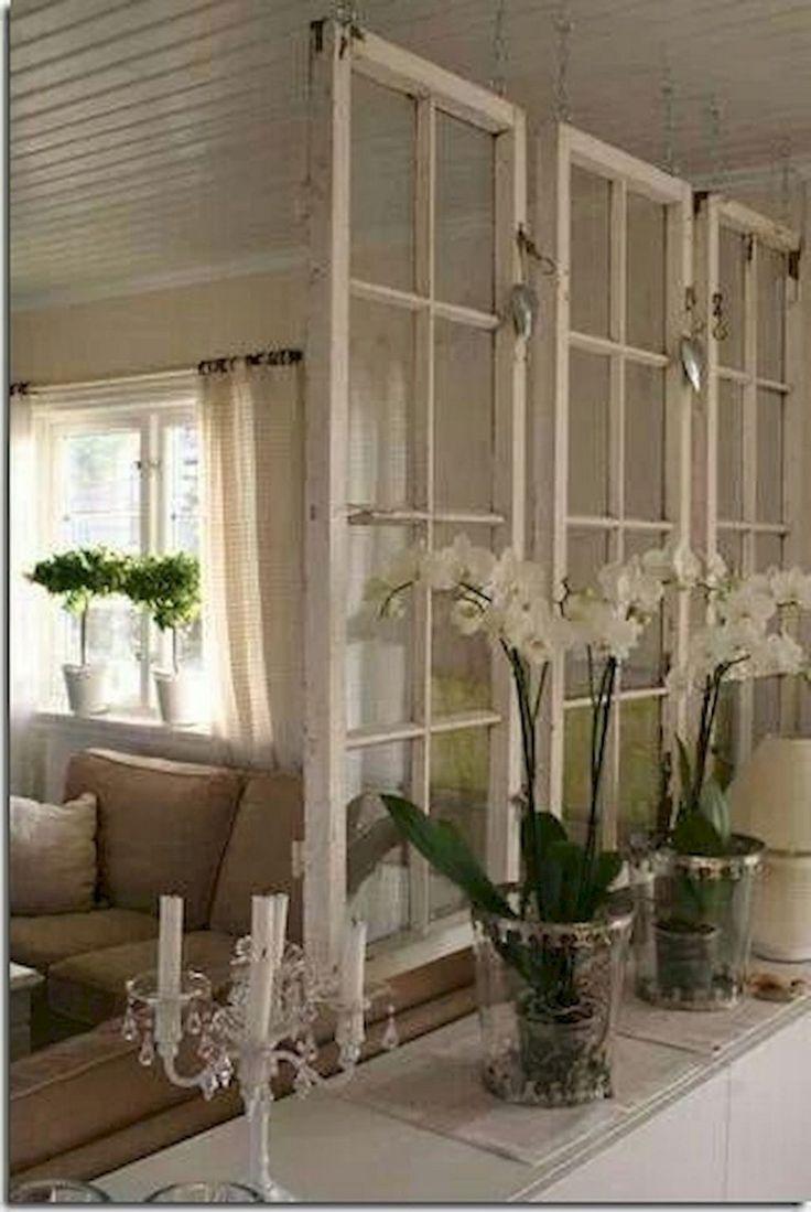 50 + wunderbare Shabby Chic Wohnzimmer Dekor Ideen