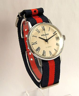 Poljot  Vintage Watch USSR 70'