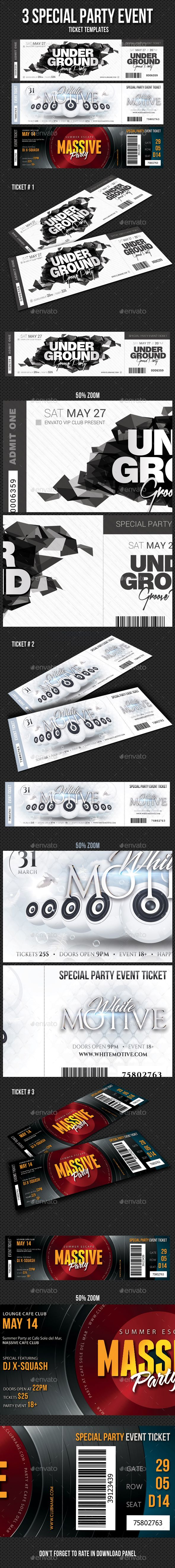 235 best ticket templates images on pinterest
