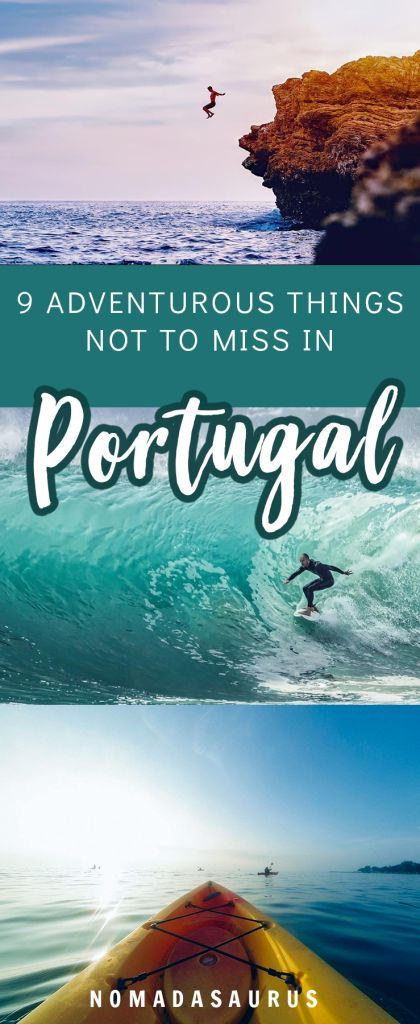 Portugal is such a beautiful country for adventure! Here are NINE adventurous things to do in Portugal while you're here. #portugal #adventure