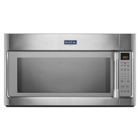 Maytag�2-cu ft Over-the-Range Microwave with Sensor Cooking Controls (Stainless Steel) (Common: 30-in; Actual 29.9-in)