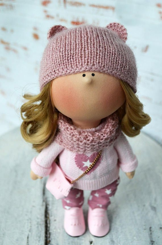 School doll Teen doll Handmade doll Fabric doll Tilda doll Soft doll Poupée Cloth doll Baby doll Rag doll Red doll Textile doll by Olga S ____________________________________________________________________________________ Hello, dear visitors! This is handmade cloth doll created
