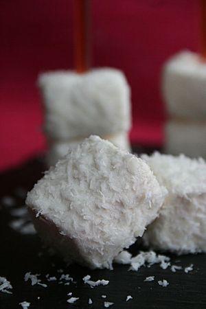 Guimauves noix de coco