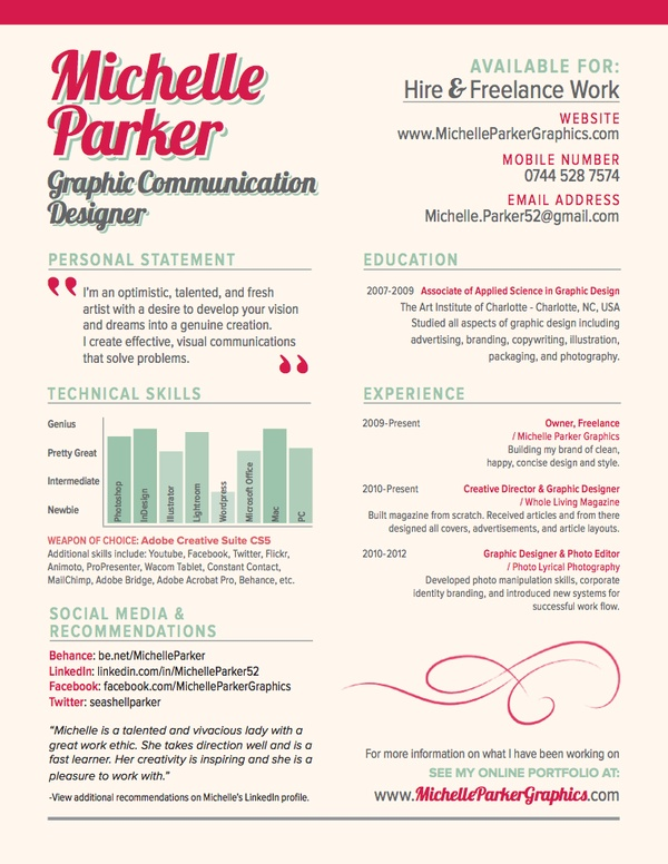 97 Best Creative-Cv Images On Pinterest | Resume Ideas, Cv Design