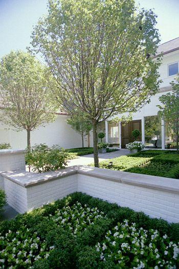 Contemporary Parterre Landscape And Gardens Brick 640 x 480