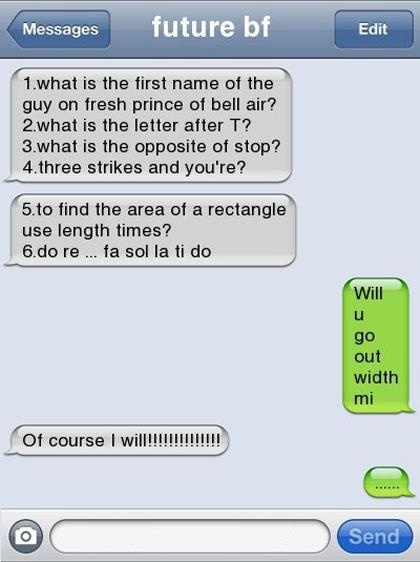 witty ways to ask a girl out