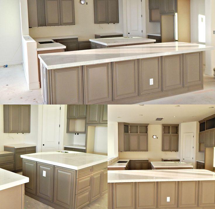 Kitchen Cabinet Estimates: Lyskamm Quartz Countertop Remodel With Flat Polish Edge