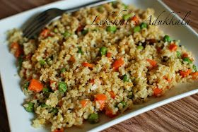 Sooji or Cracked wheat Upma is yet another delicious and healthy recipe.  The preparation method is simple and easy to follow.   IN...