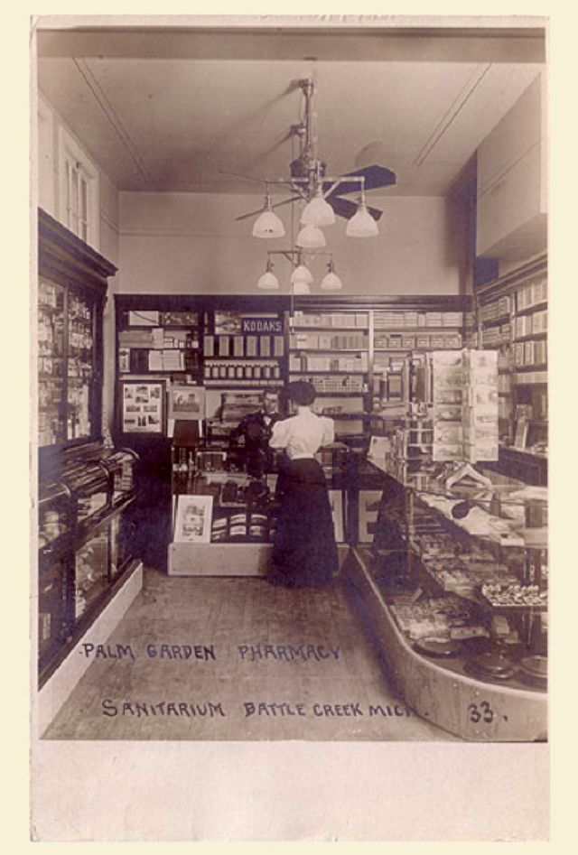"""This is what a camera shop looked like a century ago. A seller named """"2raccoons"""" on eBay is offering this postcard of the interior of ..."""
