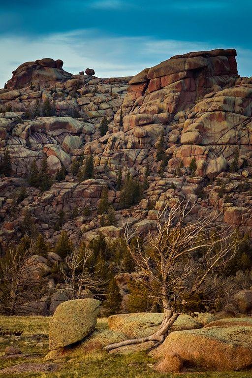 The geologic wonder of Vedauwoo, near Laramie, Wyoming. #Nature #Wyoming #Photography