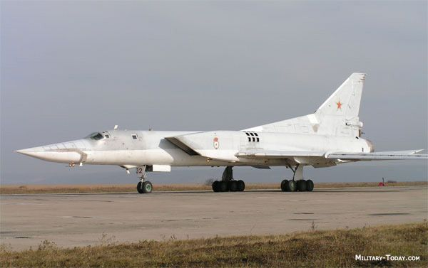 Tupolev Tu-22M Backfire. The Tu-22M was developed from the earlier Tu-22 design, incorporating variable-geometry outer wing panels. The first Tu-22M-0 prototype flew in 1969. Powered by a military derivative of the engine originally designed for the Tu-144 supersonic airliner, the Backfire is extremely fast, even at low level.