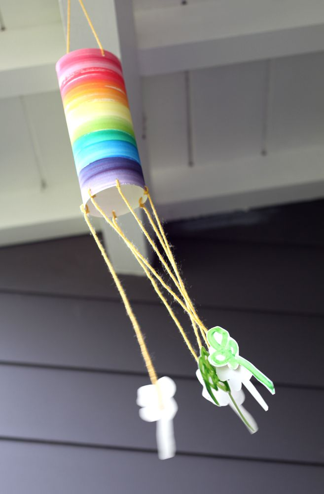 Lucky Wind Sock - A St Patrick's Day Kid Craft