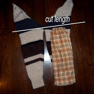 DIY Wool Diaper Cover or Pants from Recycled Sweaters