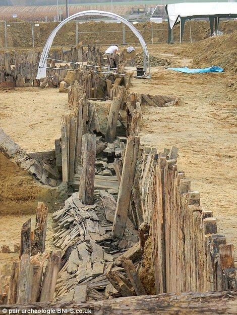 Perfectly intact German WW1 trench found 27 Feb 2012