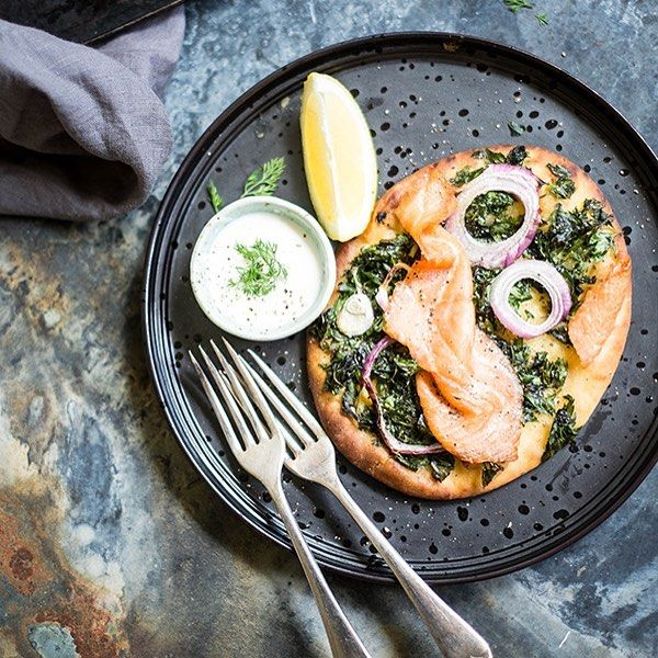 These zesty salmon flatbreads are the perfect thing to add to your spring brunch repertoire. Find the recipe on eatloveshare.com.au now.