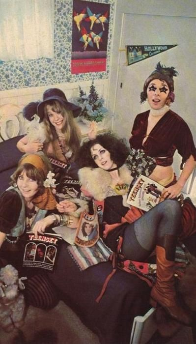 The ultimate groupies of the 60s & 70s