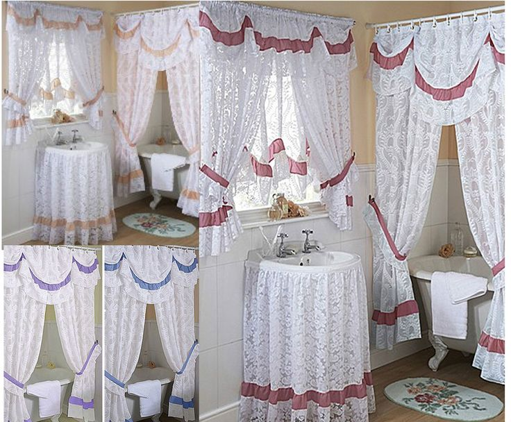 10 Best ideas about Lace Shower Curtains on Pinterest   Bathroom shower curtains  Rustic bathroom decor and Lighthouse bathroom. 10 Best ideas about Lace Shower Curtains on Pinterest   Bathroom