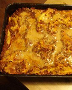 Lasagna di capodanno con lenticchie - http://www.magiconatale.it/2054-lasagna-capodanno-lenticchie/