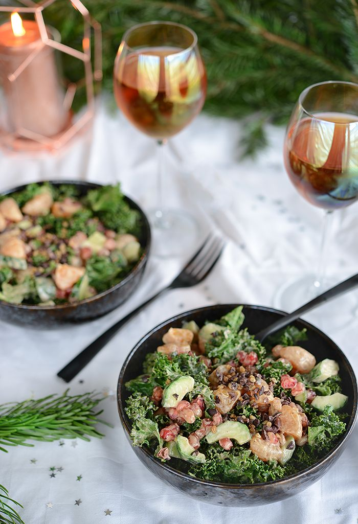 Les 25 meilleures id es de la cat gorie salades de kale for Idees entrees legeres