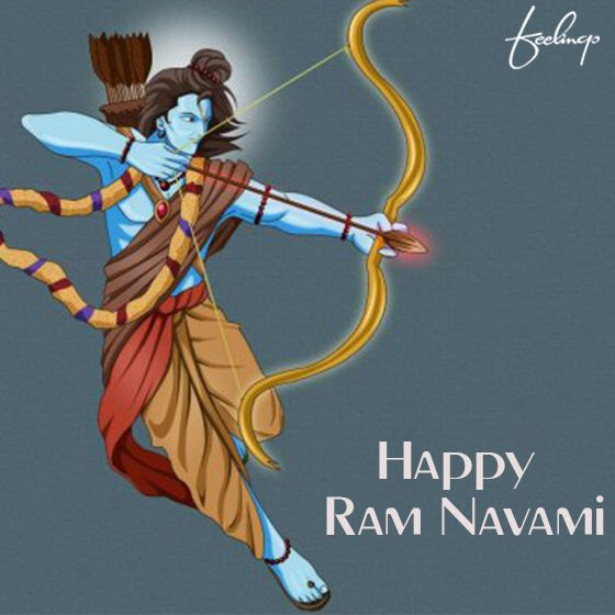 May the blessings of Lord Ram always be upon you! Happy Ram Navami!