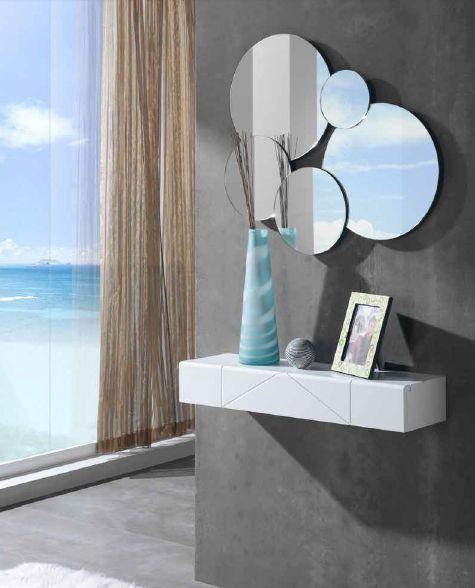 Espejos de cristal con luz led tiku dise o y calidad en for Espejos decorativos con luz